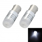 1156 3W 300lm LED White Light Car Steering Light Bulb (2 PCS / 12V)