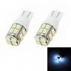 T10 1.3W 120lm 20x1210 SMD LED White Light Car Clearance / Instrument Light (2 PCS / 12V)