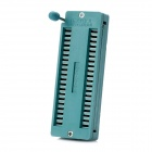 40 Pin ZIF DIP IC Tester Board Socket - Green