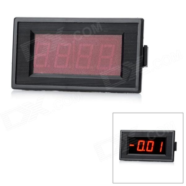 3-1/2 Digit 2.2 LED Display Panel Digital Meter / Ammeter (DC 3A) c20d 3 digit 0 56 blue led digital ammeter meter module black green