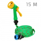 Nozzle Spray Head Water Gun with Hose - Green + Yellow