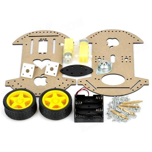 2WD Robot Raider Car Kits for Arduino (Works with Official Arduino Boards)