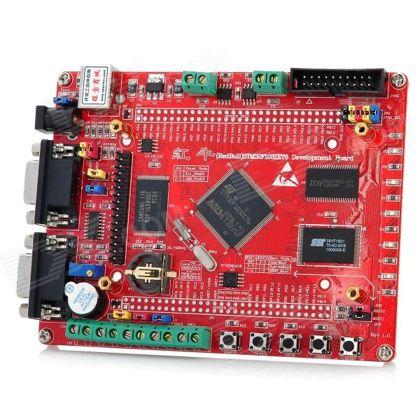 5-in-1 Cortex-M3 STM32F103ZET6 Development Board - Red