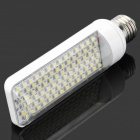 E27 6W 3300K 480lm 84-LED Warm White Light Bulb - White (AC 110~220V)