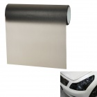 Matte Protective Decoration Car Headlight Color Changing Sticker - Black (29.5cm x 500cm)