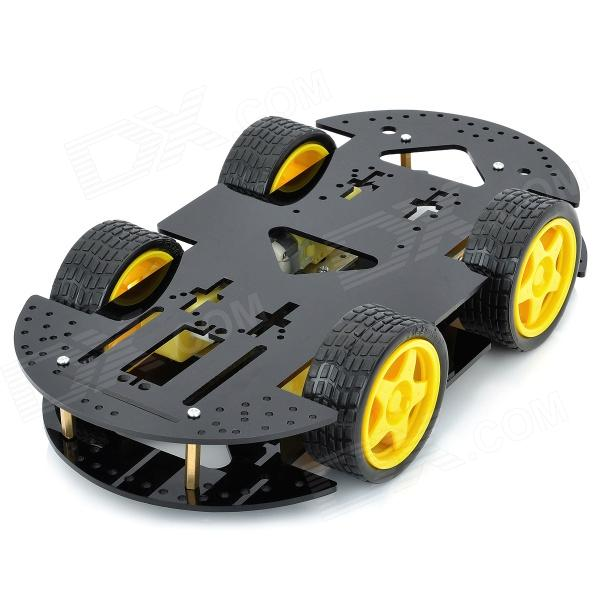 16-in-1 Smart Car Chassis Kit for Arduino (Works with Official Arduino Boards) fujimi 1 24 rs 66 mclaren f1 12573 car model kit