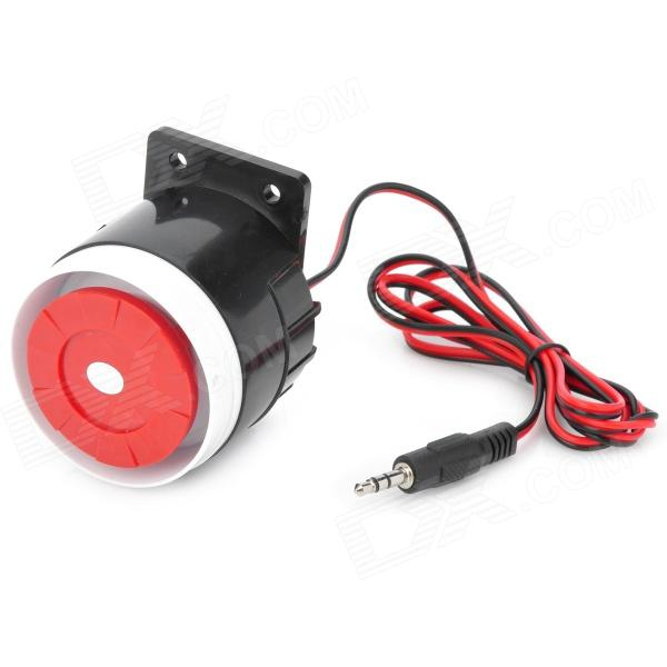 120dB Loud Security Alarm Siren Horn Speaker Buzzer - Black + Red (DC 6~16V) 120db loud security alarm siren horn speaker buzzer black red dc 6 16v page 4