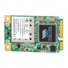 VIA VT6656 5mW IEEE 802.11 a/b/g 54Mbps Mini PCI-E Wireless Network Card
