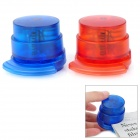 Mini Environmental Protection Stapleless Stapler - Red + Blue (2 PCS)