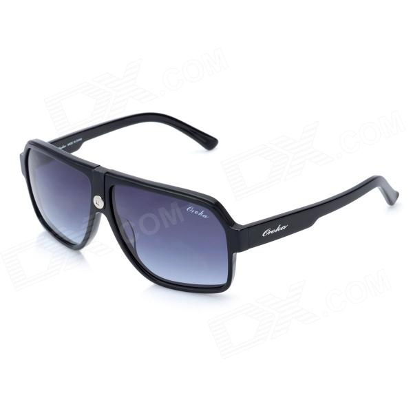 OREKA Fashion Resin Protection Polarized Sunglasses - Black + Blue uponor radi pipe труба белая pn10 20x2 8