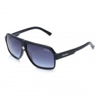 OREKA Fashion Resin Protection Polarized Sunglasses - Black + Blue