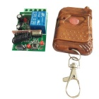 MTDZ006 RF 1-Channel Wireless Remote Controller Switch Module - Green + Blue