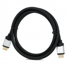 HDMI V1.3 HDMI Male to Male Connection Cable - Black + Silver (150cm)