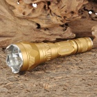 UltraFire SH-TG2 Cree XR-E Q5 160lm 5-Mode White Light Flashlight - Golden (1 x 18650)