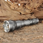 UltraFire SH-TG2 Cree XM-L T6 600lm 5-Mode White Light Flashlight - Grey (1 x 18650)