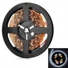 ZY002 42W 2700lm 6500K 80-SMD 5050 LED White Light Flexible Lamp Strip - Brown (DC 12V / 3m)