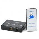 HSR-3P 4-Port 1080P HDMI 1.3b Switcher with Remote Controller (3-In / 1-Out)