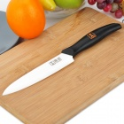 "KITCHENDAO 6"" Chic Chefs Horizontal Ceramic Knife - Black + White (151mm-Blade)"