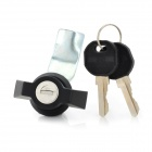 Lock Set for Distribution Box - Black