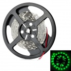 36W 525nm 1800lm 150-SMD 5050 LED Green Light Flexible Lamp Strip - ( DC 12V / 5m)