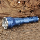 UltraFire SH-TG2 Cree XM-L T6 600lm 5-Mode White Light Flashlight - Blue (1 x 18650)