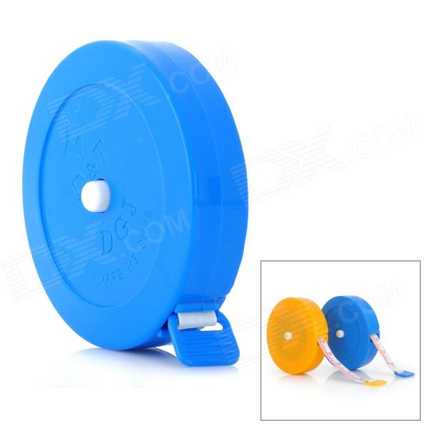 Mini Plastic Retractable Soft Measure Tape Rule - Random Color (1.5m)