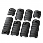 KAC Rail Cover Set - Black (8 PCS)