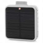 Solar Powered 2200mAh External Battery Pack for iPhone / iPod + More - White