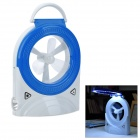 CPATCAM 3-in-1 Mini Rechargeable 24-LED Emergency Desk light Fan - Blue