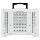 DP LED-765 Rechargeable 54-LED White Light Emergency Lamp - White (AC 90~240V)