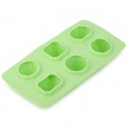 Cool Jewels Dazzling Diamond Ice Cube Tray - Light Green