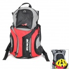 ACACIA 040131301 Camping Mountaineering Backpack Bag - Red + Black + Grey (12L)