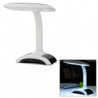 1300mAh Rechargeable 30-LED White Light Touch Eyes Protective Learning Lamp - White (AC 90~240V)
