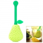 Pear Style Silicone Tea Bag - Green