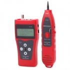 "NF-388 2.5"" LCD Network Communication Cable Tester w/ Receiver - Red (1 x 6F22)"