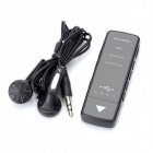 Mini High-Definition Digital U Disc Voice Recorder - Black (3.5mm Plug / 95cm-Cable / 4GB)