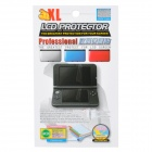 Protective Glossy Full Screen Guards w/ Cleaning Cloth for Nintendo 3DS LL