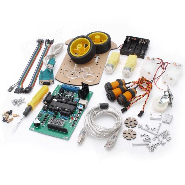 ZL-B MCS351 Obstacle Avoidance Smart Car for Arduino (Works with Official Arduino Boards)