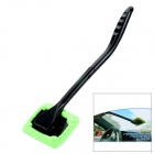 Multifunctional Window Cleaner Car Windshield Wonder w/ 2 Microfiber Pad - Green + Black