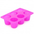 Jelly Shaped Ice Cube Tray Mold - Deep Pink