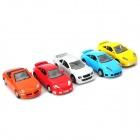 1 : 64 Pull Back Die-Cast Metal Toy Car (5 PCS)