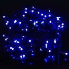 6W 8-Mode 100-LED Light Blue Fog Flexible Decoración Luz de tira - (enchufe de la UE / AC 220V / 10 m)