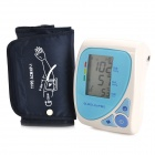 "BPCBOA-2H 2.6"" LCD Oscillometric Arm Blood Pressure Meter - Light Blue + White (4 x AA)"