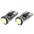 T20 1W 60lm 1-SMD 5050 LED White Light Decode Car Clearance Lamp (12V / 2 PCS)
