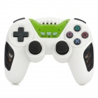 Rechargeable Bluetooth Wireless DoubleShock SIXAXIS Controller for PS3 - White + Black