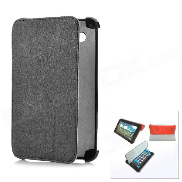 BELK Protective Microfiber Magnetic Case for Samsung Galaxy Tab P3100 / P6200 - Black