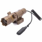 680nm Red Laser Scope w/ Gun Mount - Bronze (1 x CR123A)