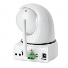 EYE SIGHT CMOS 300KP Wireless Antenna IP Network Camera w/ Micro SD Card - White