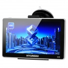 "HUNYDON 7"" Resistive Screen LCD WinCE 6.0 GPS Navigator with Europe Map"