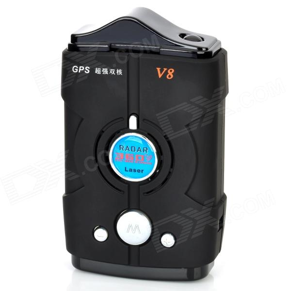 1.5'' Display Car Radar Detector w/ Car Charger - Black (12V / Russian) от DX.com INT